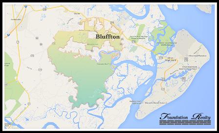 Bluffton SC Real Estate - Homes   Villas/Condos ... on city of bluffton indiana, city of bluffton sc map, huntington county in map,